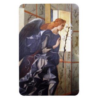 Anuncio magnífico del ángel de Juan Bellini Imán Rectangular