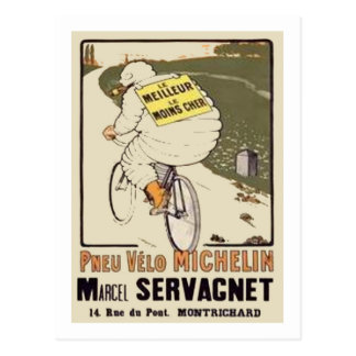 Anuncio Marce de Vintage Michelin le Meilleur le M Postales