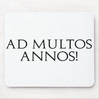 ¡Anuncio Multos Annos! Alfombrillas De Raton