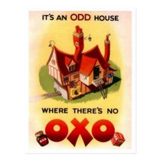 Anuncio OXO del vintage - es y casa impar donde ha Postales