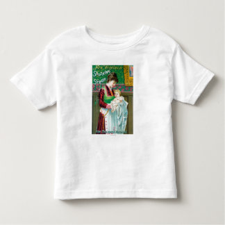 Anuncio para el jarabe calmante de señora Winslows Camisas