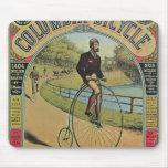 Anuncio para la bicicleta de Columbia Alfombrillas De Ratón