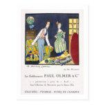 Anuncio para la colección de verano de Paul Olmer, Tarjeta Postal