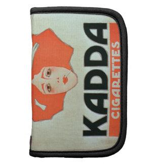"""Anuncio para los """"cigarrillos de Kadda"""" (litho del Organizador"""