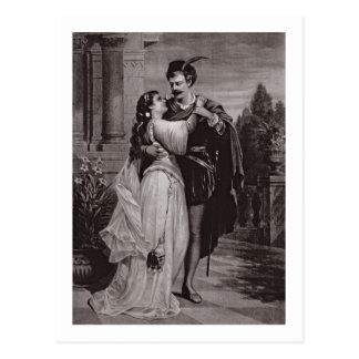 """Anuncio para """"Romeo y Juliet"""", en la ópera Postales"""