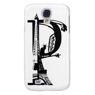 ANUNCIO París Noir Funda Para Samsung Galaxy S4
