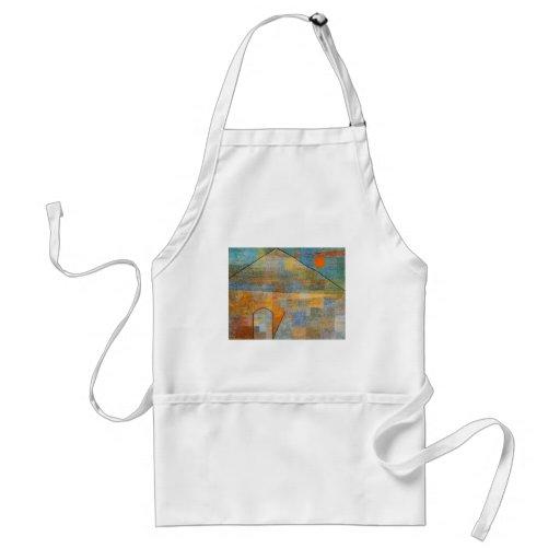 Anuncio Parnassum de Paul Klee- Delantales
