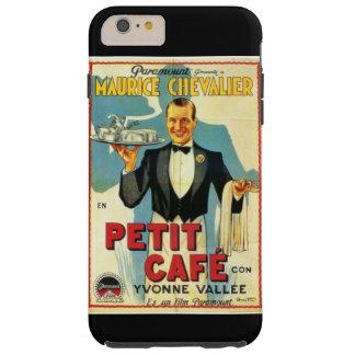 Anuncio pequeno 1931 de la película del café de funda de iPhone 6 plus tough