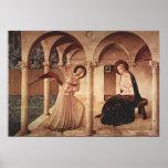 Anuncio (por Fra Angelico) Impresiones