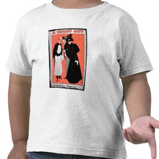 """Anuncio por """"una noche hacia fuera"""", en el vodevil camisetas"""