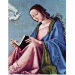 Anuncio (que lee a Maria) por la costa de Lorenzo Esculturas Fotográficas