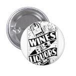 Anuncio retro del estilo de los vinos y de los lic pin