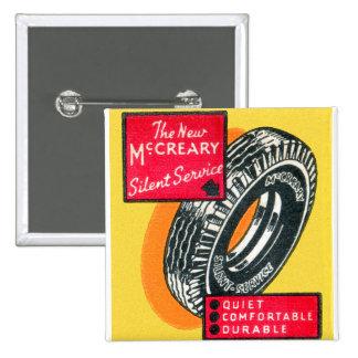 Anuncio retro McCreary del neumático del Matchbook Pin