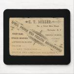 Anuncio Rochester N.Y. Mousepad del papel de empap