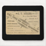 Anuncio Rochester N.Y. Mousepad del papel de empap Tapetes De Ratones