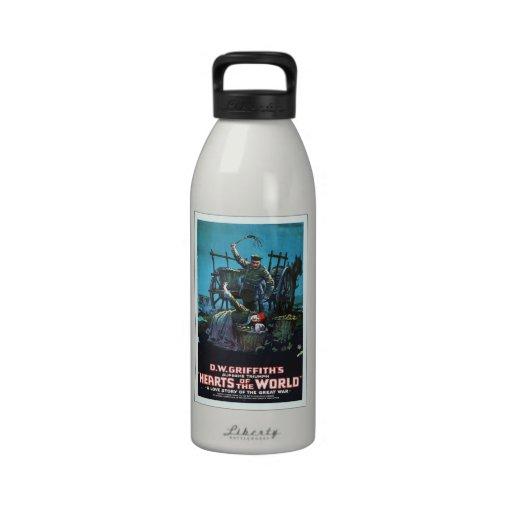 Anuncio ruso de la película botella de agua reutilizable