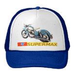 """""""Anuncio SUPERMAX de la motocicleta del vintage 19 Gorros"""