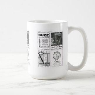 Anuncio, Suze y otro Taza Básica Blanca
