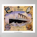 Anuncio titánico del jabón del vintage del RMS Impresiones