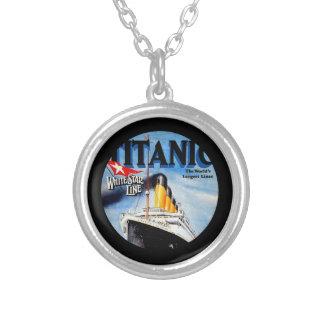 Anuncio titánico del viaje del RMS Colgante Redondo