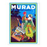 Anuncio turco de los cigarrillos de Murad del Postal