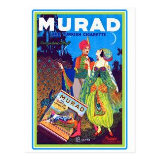 Anuncio turco de los cigarrillos de Murad del Tarjetas Postales