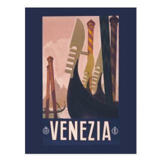 Anuncio Venecia Italia del viaje de Litho del Tarjetas Postales