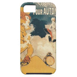 Anuncio viejo del francés del automóvil del coche iPhone 5 funda