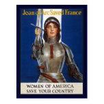 Anuncios americanos franceses del feminismo de postal