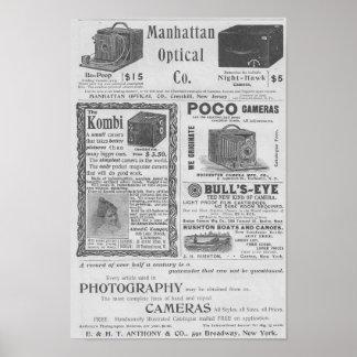 Anuncios de la cámara poster