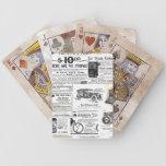 Anuncios del vintage barajas de cartas