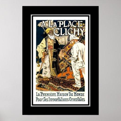 Anuncios Eugène Grasset del vintage del poster