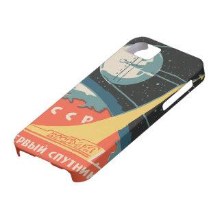 Anuncios rusos de la caja de cerillas del vintage iPhone 5 carcasas