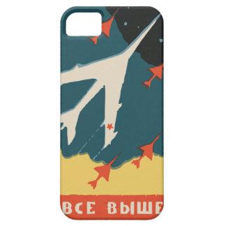 Anuncios rusos de la caja de cerillas del vintage iPhone 5 Case-Mate protector