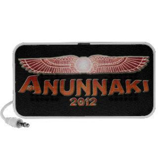 Anunnaki 2012 Red and Black Doodle Speaker