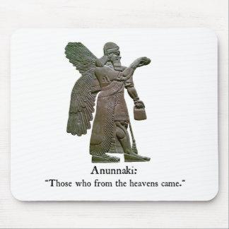 Anunnaki Ancient Aliens Mouse Pad