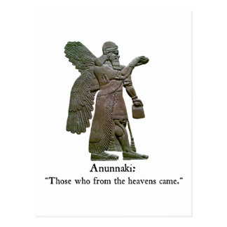 Anunnaki Ancient Aliens Postcard