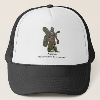 Anunnaki Ancient Aliens Trucker Hat