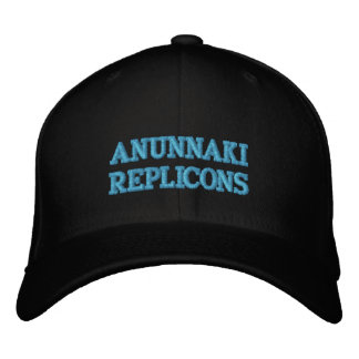 ANUNNAKI REPLICONS EMBROIDERED BASEBALL HAT