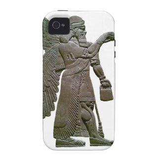 Anunnuki Ancient Sumerian Alien Extraterrestrial Vibe iPhone 4 Cases