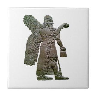 Anunnuki Ancient Sumerian Alien Extraterrestrial Ceramic Tile