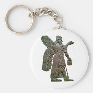 Anunnuki Ancient Sumerian Alien Extraterrestrial Keychain