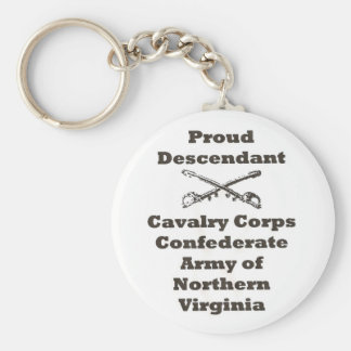 ANV Cav Corps Basic Round Button Keychain