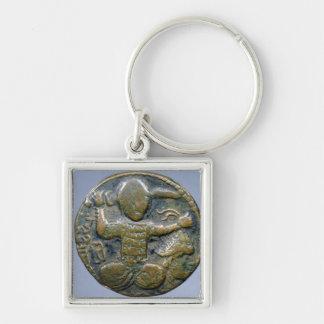 Anverso de la moneda que representa al turco con c llavero