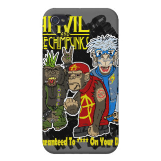 Anvil and the Chimpunks Covers For iPhone 4
