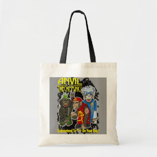 Anvil and the Chimpunks Tote Bag