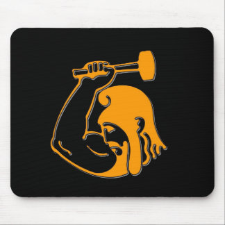 Anvil Man Mouse Pad