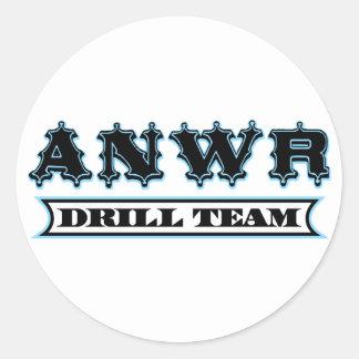 ANWR Drill Team Classic Round Sticker