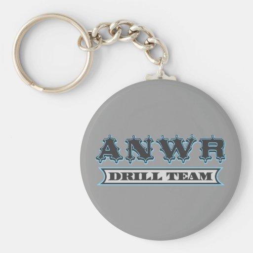 ANWR Drill Team Key Chain