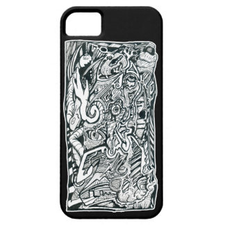 Anxiety Attack by Brian Benson iPhone SE/5/5s Case